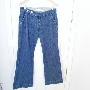 Zara Low Rise Flared Jeans